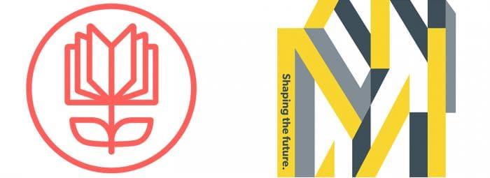 logos for Open Doors English and Milstein Program