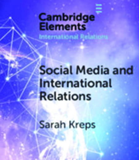 Social Media and International Relations book cover