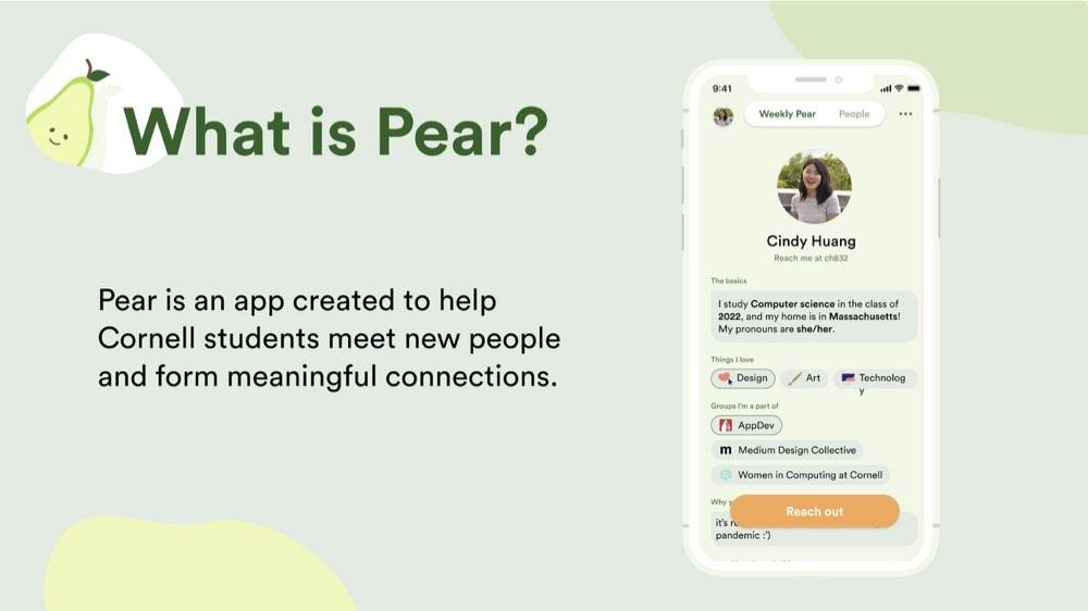 Pear app slide